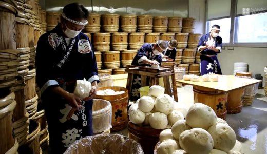 京都「大安」千枚漬の仕込みピーク