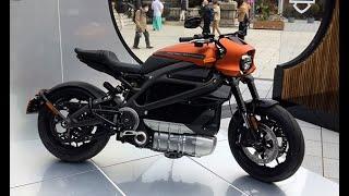 ハーレーの初の電動バイク登場
