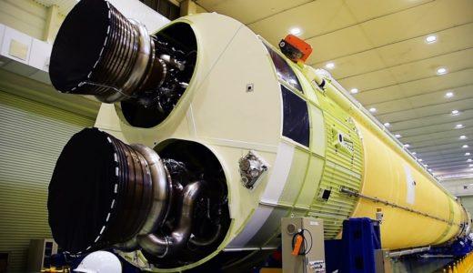 新型ロケットH3を三菱重工が公開