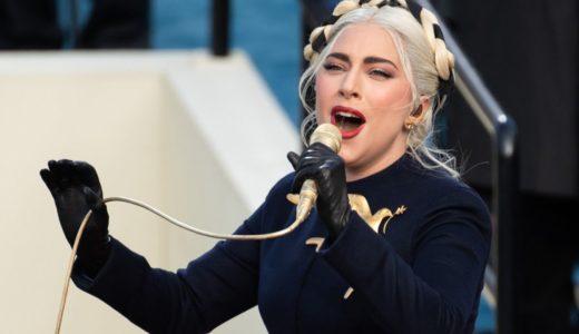 米大統領の就任式でレディー・ガガさんが国歌独唱
