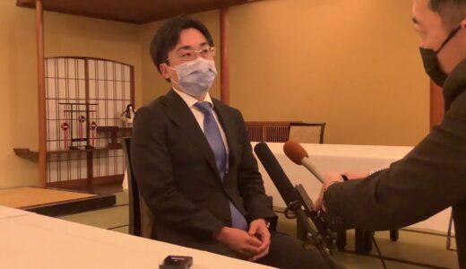 菅井竜也八段「今までのクラスと違って…」~一番長い日、インタビュー~=村上耕司撮影