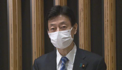 西村氏「丁寧に運用」 改正コロナ特措法が成立
